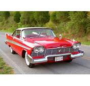 1958 PLYMOUTH FURY HARDTOP COUPE Similar To Many Used In The Filming