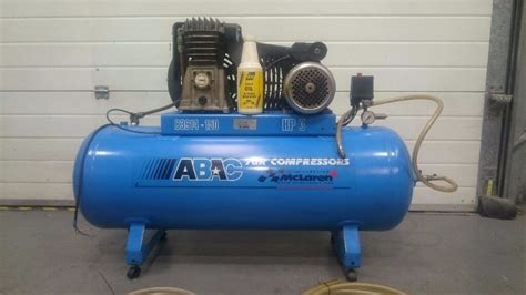 abac b3914 150 single or 3phase 3hp air compressor in excellent condition in gloucester