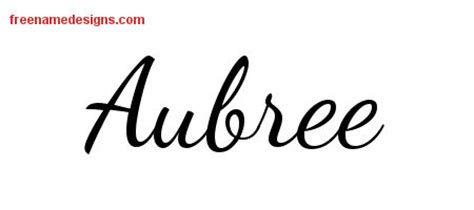 aubree in cursive pictures to pin on pinterest pinsdaddy