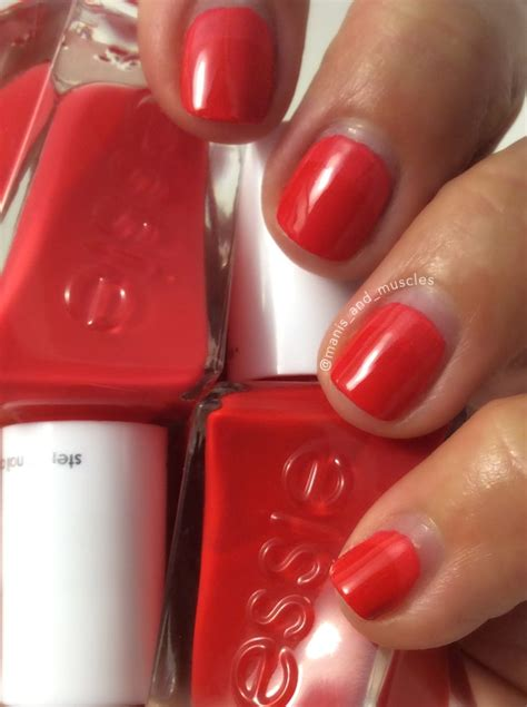 sizzling hot essie gel couture essie treat love and color