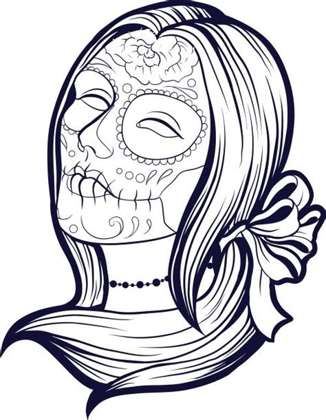 imagenes de calaveras o catrinas imagenes catrinas calaveras mexicanas colorear 9 catrinas10