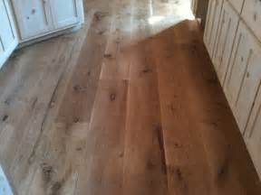 Rustic Hardwood Flooring Wide Plank Character 10 Quot Wide Plank White Oak Hardwood Flooring Rustic Kitchen Atlanta By Oak Broad