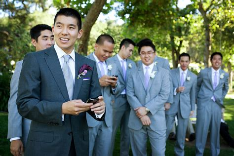how to groom for a wedding party men style guide groom groomsmen attire the knot