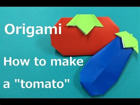 Origami Tomato - tomato origami 鹂鹁鸺鸶鸫鹁駙駤 鹁駙鸶鸪鸢鸺鸶 鐣 寗鎶樼焊 鐣 寗鎽虹礄 tomate origami