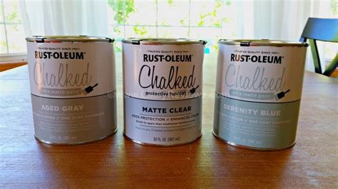 rust oleum chalked ultra matte paint review emily reviews
