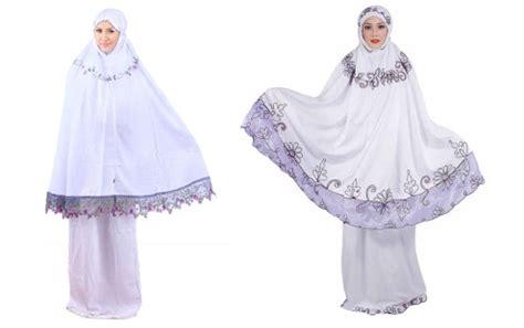 Busana Mukena Baju Muslimah Mukena Abaya Mukena Terusan Murah 21 perkembangan desain mukena dari dulu hingga sekarang