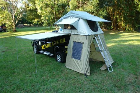4x4 awning tent rooftop tents awnings bush ranger 4x4 gear