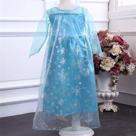 Baju Elsa Frozen Jakarta frozen elsa baju anak size 130 z003 blue jakartanotebook