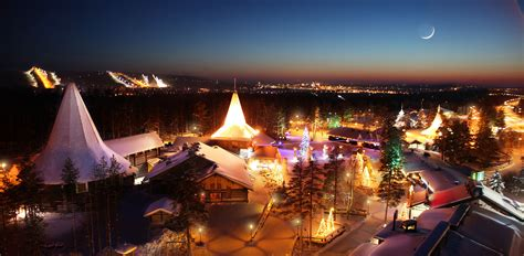 santa claus and the magic of christmas in rovaniemi