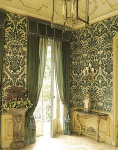 dark olive green curtains decoration on pinterest chinoiserie interior design and