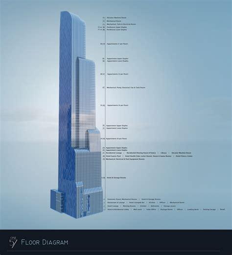 900 Biscayne Floor Plans by New York One57 Carnegie 57 1 005 Ft 75 Floors