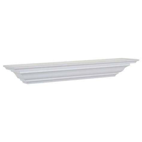 decorative crown moulding home depot the magellan group 5 1 4 in d x 48 in l crown moulding shelf cms48w the home depot