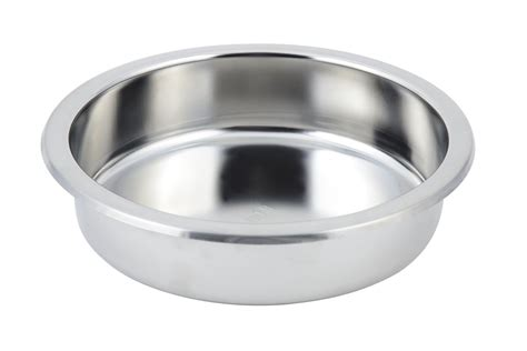 stainless steel 1 quot x 3 quot and surf glass kitchen backsplash bon chef 12021 stainless steel round food pan for petite