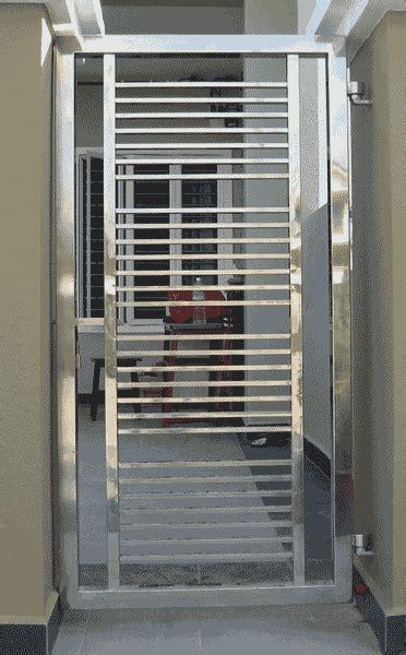 stainless steel continental custom iron steel gate