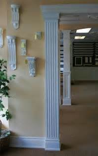 fluted square interior column interior columns pinterest