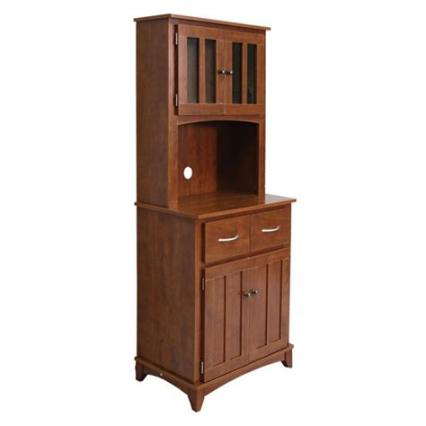 oak microwave stand with hutch oak tall microwave cabinet serving utility carts kitchen