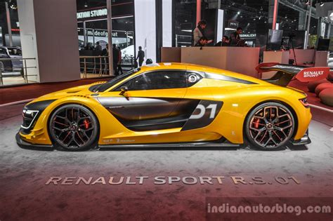 renault rs 01 renault rs 01 side at auto expo 2016