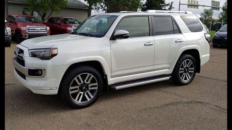 2018 Toyota Forerunner by 2018 Toyota 4runner Limited In Blizzard Pearl With Redwood