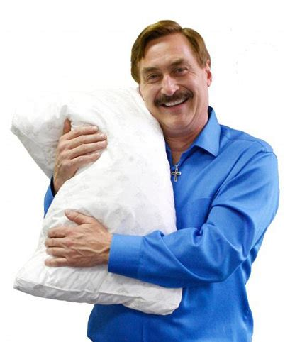 world s most comfortable pillow hello i m mike lindell inventor of the world s most