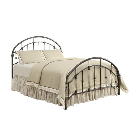 bronze metal bed coaster maywood king metal bed with headboard in bronze