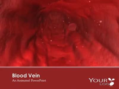 blood vessel powerpoint template backgrounds id red blood cell vein a science and technology powerpoint