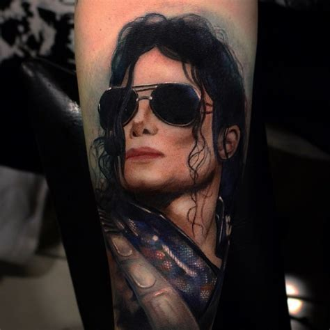 michael jackson tattoos designs 20 realistic best portrait photos golfian