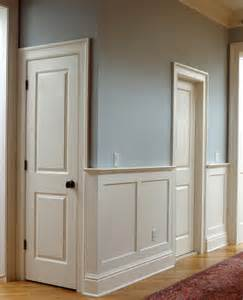 Panel Molding Wainscoting Paneled Wainscoting