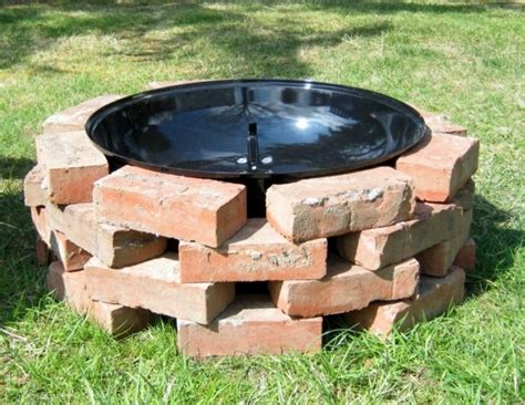 building pit mortar how to build a brick pit without mortar pit ideas