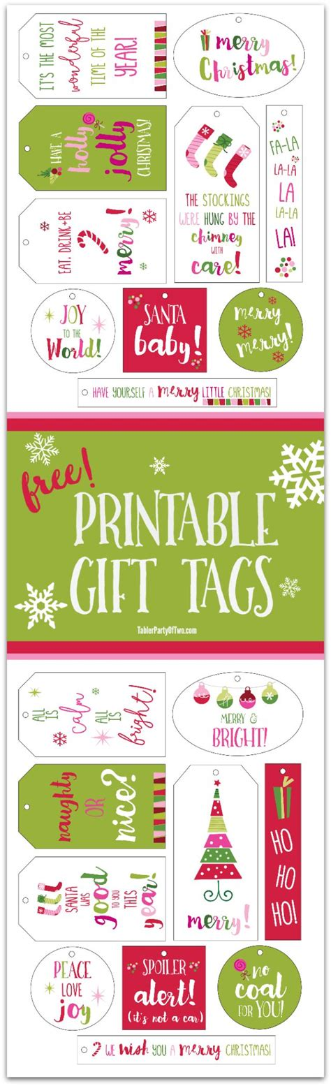 printable punch out gift tags 24 best images about chalkboard labels and templates diy