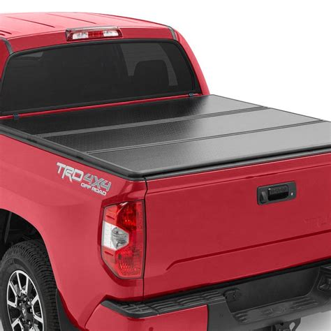 toyota truck bed covers rugged liner 174 toyota tacoma with utility track 2016 2017