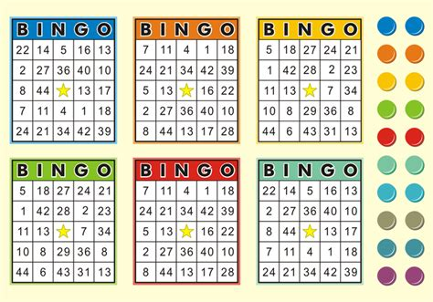 6 x 6 bingo card template editable bingo cards free vector free vector stock