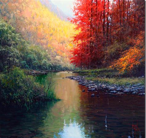 im 225 genes arte pinturas paisajes espectaculares en paisajes con agua para pintar mejor conjunto de frases