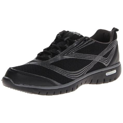 athletic walking shoes for propet 2505 womens travellite mesh lace up athletic