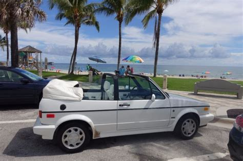 1992 Volkswagen Cabriolet For Sale by 1992 Vw Cabriolet Excellent Conditions Karmann For Sale