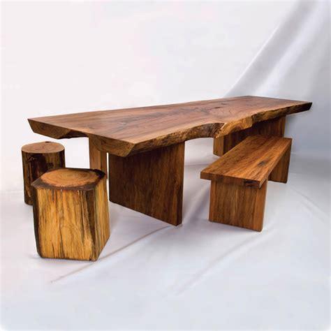 Rustic Wood Furniture For Original Contemporary Room Design Digsdigs