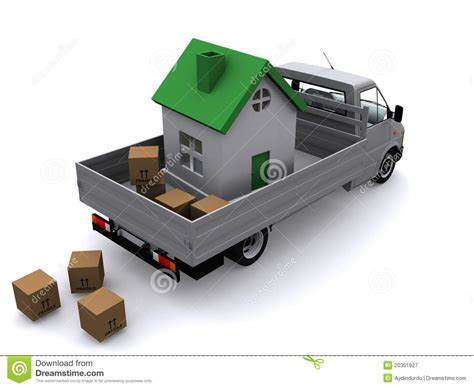 whole house movers moving the whole house royalty free stock photography image 20351927