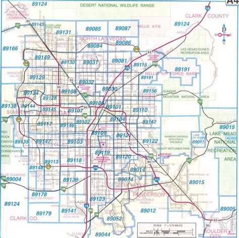printable zip code map of las vegas las vegas zip code map