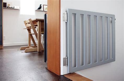 diy baby gate ideas fabric pallet  wood frame