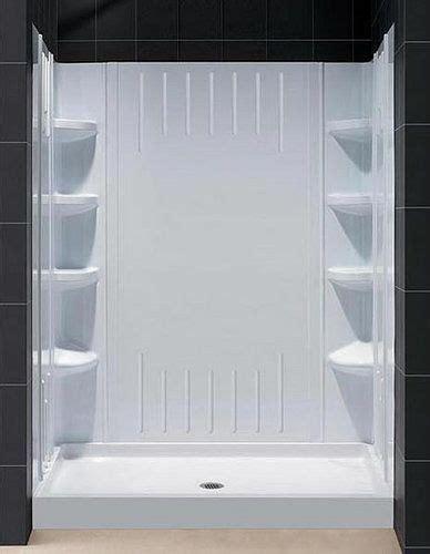 acrylic sheets for bathroom walls dreamline dl 6168l 00 amazon shower base and backwall kit