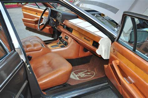 Maserati Quattroporte Royale 1987 1990 Model Interior