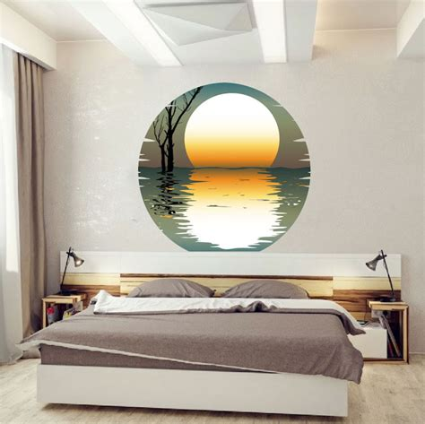 large wall mural decals sunset wall mural decal beautiful wall decal murals