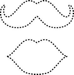 moustache pattern lab unique lollipop valentine craft jellybean lab
