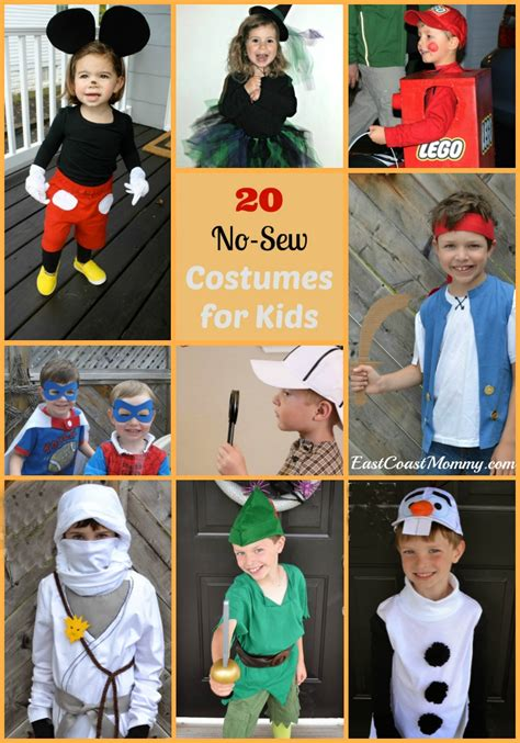 east coast mommy  awesome  sew costumes  kids