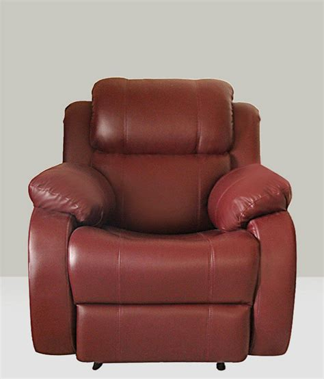 one seater recliner single seater maual recliner maroon buy single seater