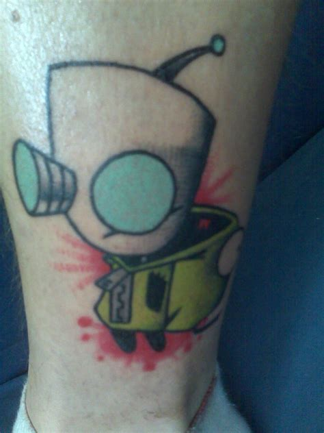 gir tattoos gir by thefritte on deviantart