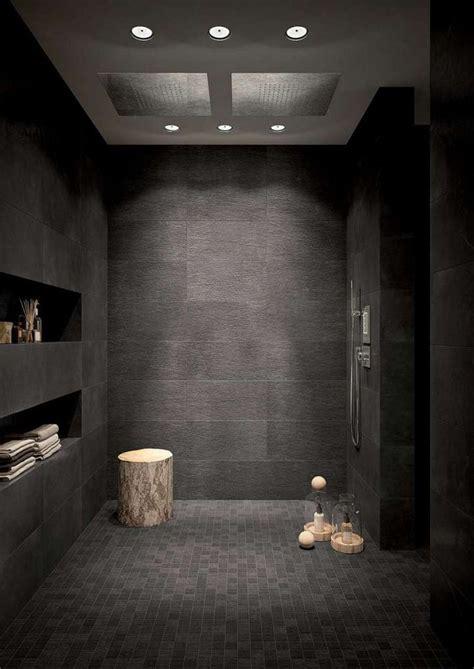 piastrelle bagno nere oltre 25 fantastiche idee su piastrelle nere su