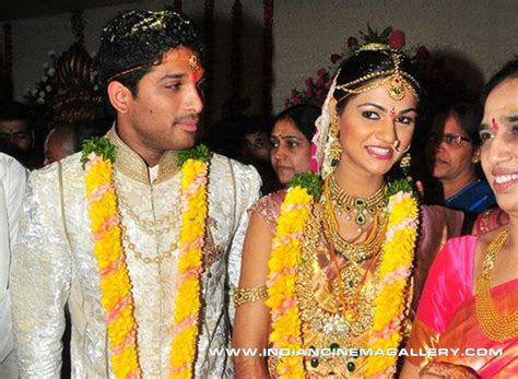 allu arjun wedding images allu arjun wedding