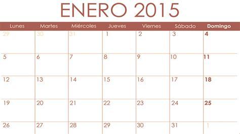 Calendario Mes Calendario Fiscal Mes De Enero De 2015 De Anfix