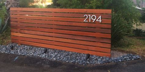 Horizontal wood fence modern home fencing and gates san diego