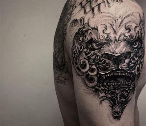 fu dog tattoo meaning olialchimist foo tattoos designs fu meaning